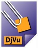Логотип программы djvureader